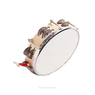 Percussion-Instruments-Double-row-cymbal-adjustable-tambourine